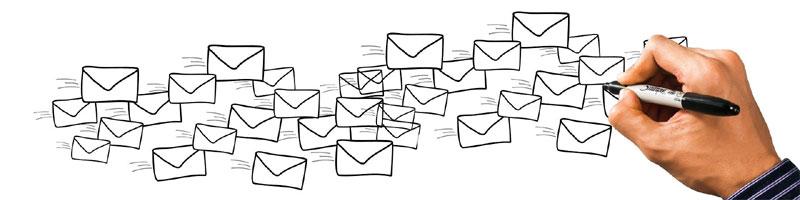Postkorbübung - E-Mails