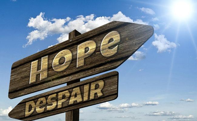 Krise als Chance - Verzweiflung versus Hoffnung
